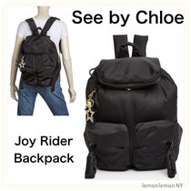 【関税送料込】See by Chloe*Joy Rider Backpack Black