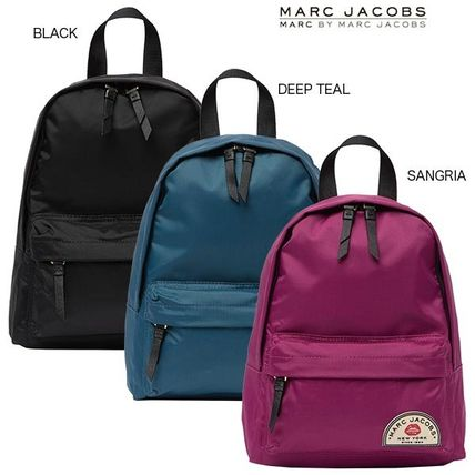 MARC JACOBS バックパック・リュック ☆関税負担・送料込☆カレッジナイロンミディアムバックパック