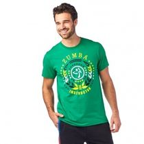ズンバ Spirit Instructor Tee Groovin' Green ユニセックス