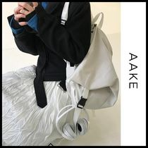 ☆AAKE☆ バックパック SOPIA BACKPACK (white,black!) 2色