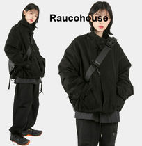 RAUCO HOUSE  HIGH NECK CROP MILITARY JACKET (RESTOCK)