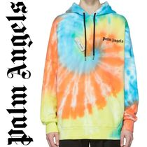 新作!関税送料込み  PALM ANGELS TIE DYE NEW BASIC HOODY