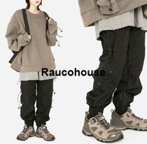 RAUCOHOUSE  RIDER STRING JOGGER PANTS