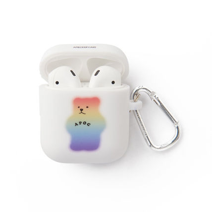 A PIECE OF CAKE スマホケース・テックアクセサリー ★A PIECE OF CAKE★エアポットケース Mistic Bear AIRPODS Case(3)