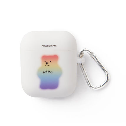 A PIECE OF CAKE スマホケース・テックアクセサリー ★A PIECE OF CAKE★エアポットケース Mistic Bear AIRPODS Case(4)