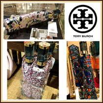 Tory Burch☆PRINTED UMBRELLA 折り畳み傘☆税 送込