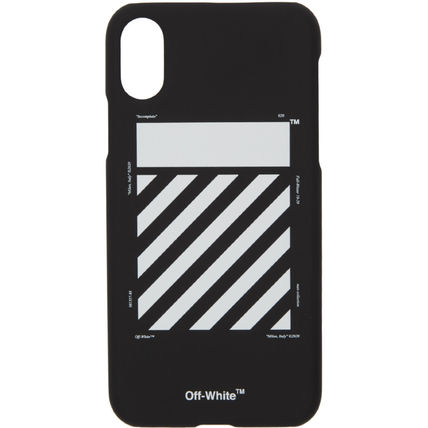 Off-White スマホケース・テックアクセサリー 【送料/関税込み】OFF-WHITE iPhone XS Max ケース