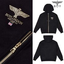 ★BOY LONDON★SERIF BOY BASIC HOOD ZIP-UP B01TC1203U
