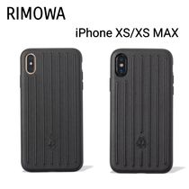 【RIMOWA】Leather Black Case iPhone XS/XS MAX用ケース