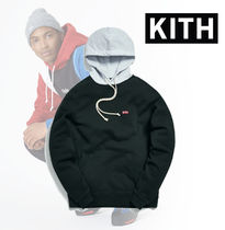 KITH WILLIAMS III CONTRAST HOODIE★Black