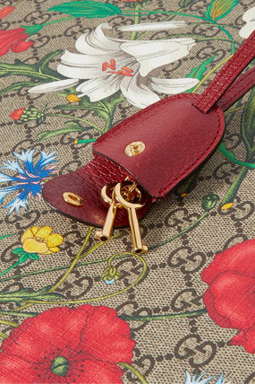 GUCCI スーツケース 関税込み◆Ophidia large textured leather-trimmed printed(6)