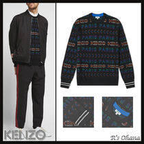 【KENZO】ケンゾー ALL-OVER JACQUARD KNIT CREW