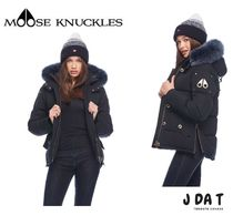 MOOSE KNUCKLES(ムースナックルズ) ダウンジャケット・コート 【MOOSE KNUCKLES】CANWOOD JACKET ファー付き ダウンジャケット