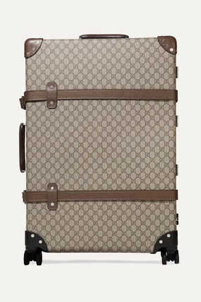GUCCI スーツケース 関税込み◆+ Globe-Trotter large leather-trimmed printed(2)