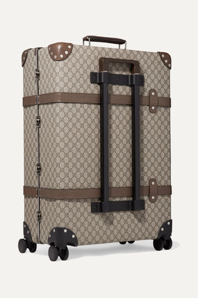 GUCCI スーツケース 関税込み◆+ Globe-Trotter large leather-trimmed printed(3)