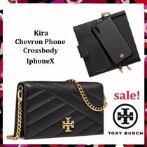 最終セール Tory Burch Kira Chevron Phone Crossbody iPhoneX