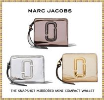 ◆◇MARC JACOBS◇◆THE SNAPSHOT MIRRORED MINI COMPACT WALLET