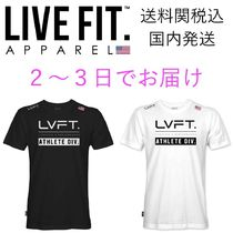 国内発送・送料関税込☆LIVE FIT☆Athlete Division Tee