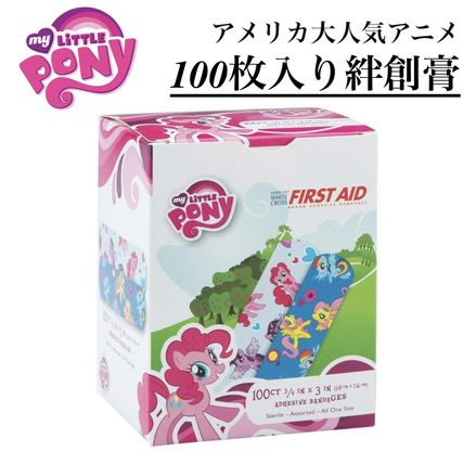 FIRST AID TO THE INJURED キッズ・ベビー・マタニティその他 大容量【My Little Pony】可愛い♡バンドエイド100枚入り