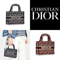 ☆Dior☆DIOR OBLIQUE☆SADDLE☆DIOR BOOK TOTE☆ミニトート☆