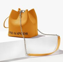 ★FIND KAPOOR★PINGO 16 LETTERING CHAIN MUSTARD STRAP97