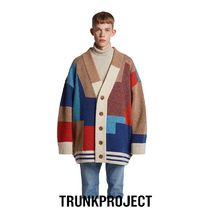 ★TRUNK PROJECT★Color Mixed Wool Cardigan Jacket MULTI