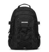 [ NEIKIDNIS ] MESH STRING BACKPACK (Black)
