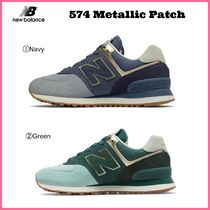 大人気!! ☆New Balance☆ Women's 574 Metallic Patch
