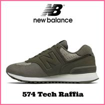 大人気!! ☆New Balance☆ Women's 574 Tech Raffia