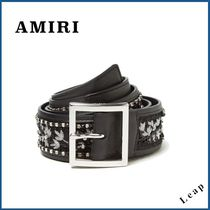 【AMIRI】レア!人気ベルト★GUITAR STRAP BELT BLACK◎