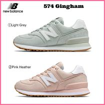 大人気!! ☆New Balance☆ Women's 574 Gingham