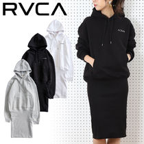 RVCA(ルーカ) ワンピース 【RVCA】ルーカ  IN SIDE OUT OVERSIZE パーカー☆レディース