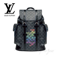 LOUIS VUITTON 2020SS 雑誌掲載 バックパック ダミエ ロゴ