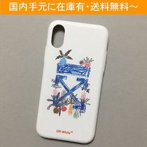 OFF-WHITE DE CRAFT ARROWS iPhone case