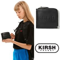 20SS新作 ★KIRSH POCKET★ LOGO HALF WALLET JS /BLACK