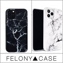 FELONY CASE(フェロニーケース) iPhone・スマホケース 新作 FELONY POLISHED MARBLE IPHONE CASE iPhone11 衝撃吸収
