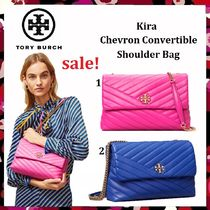 最終セール Tory Burch Kira Chevron Convertible Shoulder Bag