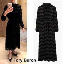 Tory Burch VELVET DEVORE DRESS 上品&華やかドレス