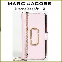 MARC JACOBS★チェーン付★ダブルJロゴ iPhone X/XS ケース