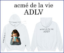 アクメドラビ★ADLV BABY FACE HOODIE WHITE WITH A MUG