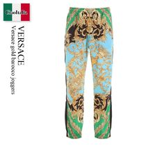 Versace gold barocco joggers