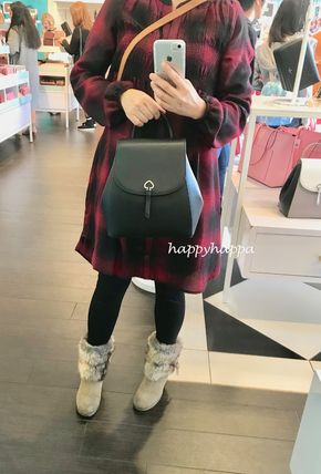 kate spade new york バックパック・リュック 【kate spade】adel medium flap backpack(2)