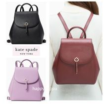 【kate spade】adel medium flap backpack