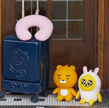 KAKAO FRIENDS キャラクターグッズ KAKAO FRIENDS★首枕 ⇔ ぬいぐるみ 2 in 1 変身首枕(アピーチ)(7)