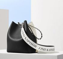 FIND KAPOOR(ファインドカプール) ショルダーバッグ・ポシェット ★FIND KAPOOR★PINGO 23 BASIC LETTERING BLACK COMBI STRAP79