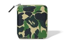 送料無料!A BATHING APE / ABC CAMO CANVAS WALLET