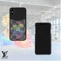20SS 新作 LOUIS VUITTON IPHONE XSケース ダミエ・グラフィット