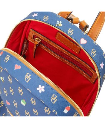 Dooney & Bourke バックパック・リュック 【Dooney & Bourke】Small Ronnie Backpack Navy/Gold(2)