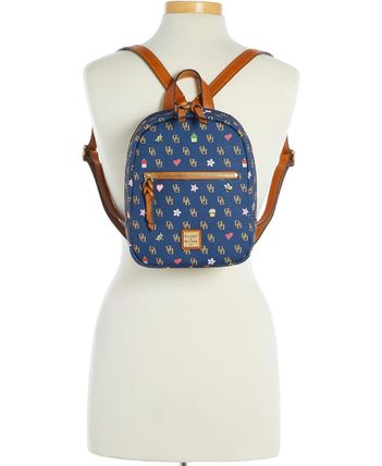 Dooney & Bourke バックパック・リュック 【Dooney & Bourke】Small Ronnie Backpack Navy/Gold(4)