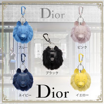 【★20SS 新作★】 Dior ☆  COOKIEラビットファーキーホルダー